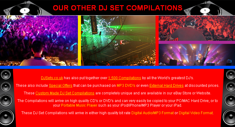 Our Other DJ Set Compilations
