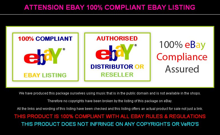 Attension eBay 100% Compliant eBay Listing