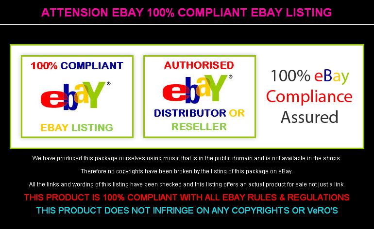 Attension eBay 100% Compliant eBay Listing