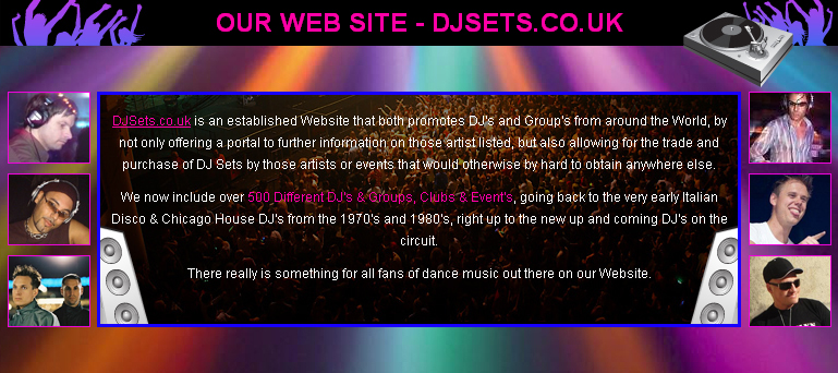 Our Web Site - DJSets.co.uk