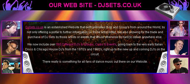 Our Web Site - DJSets.co.uk